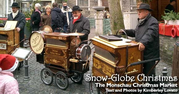 Snow Globe Christmas: The Monschau Christmas Market