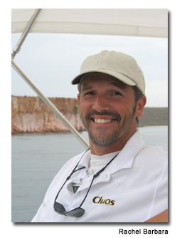 Captain Paul Noury knows the best places for snorkeling, diving and sightseeing.