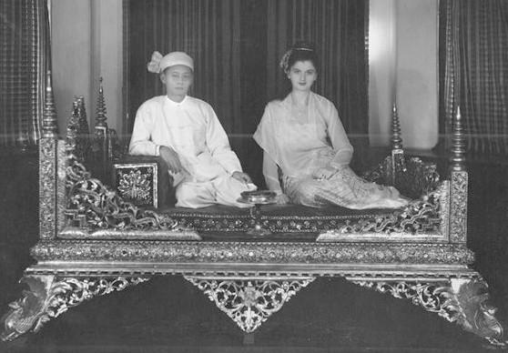 Shan Prince Sao Kya Seng and Princess Inge Sargent