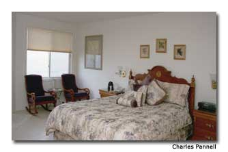 Landis shores guest room