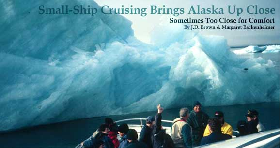 Small-ship cruising in Alaska