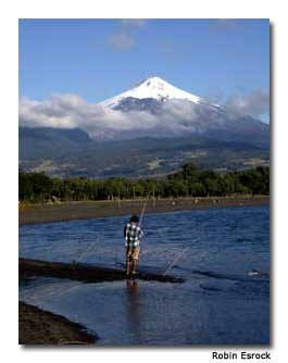 Chile Villarica offers travelers breathtaking lakeside views.