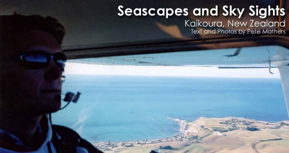 Seascapes and Sky Sights: Kaikoura, New Zealand