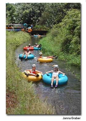 tubing with Backcountry Adventures