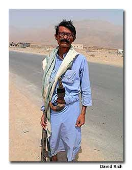 Resident of Eastern Yemen toting a Kalashnikov