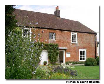 The Jane Austen House and Museum showcases several first editions of Austen's novels.