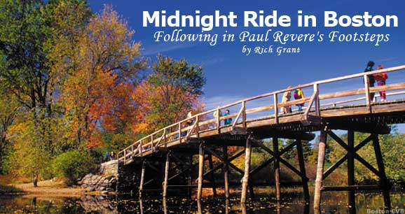 Midnight Ride in Boston: Following in Paul Revere's Footsteps