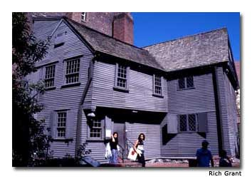 The Paul Revere House is the oldest home in Boston and is now open as a museum devoted to the famous ride.