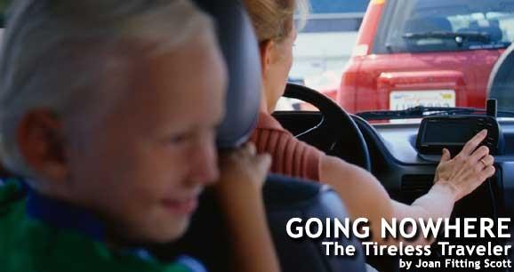 Going Nowhere: The Tireless Traveler