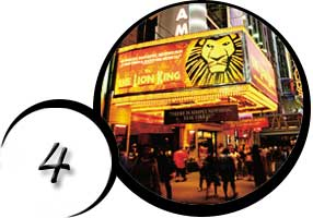Broadway Theatre, Lion King Marquee