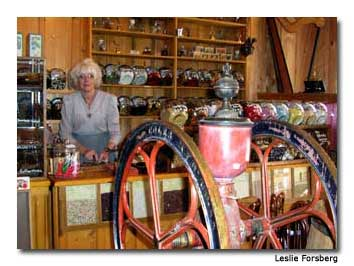 Stepping into Barkerville's general goods store was like stepping back in time.