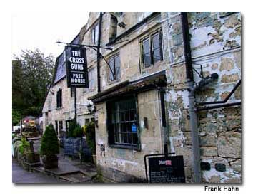 Cross Guns Pub, Bradford-on-Avon, England