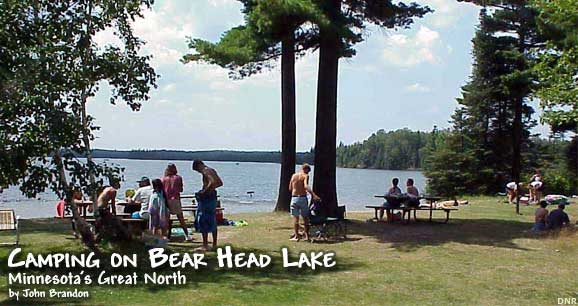 Camping on Bear Head Lake: Minnesota's Great North