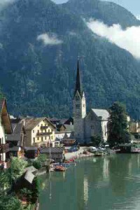Everything in Hallstatt could be on a postcard.