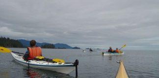 Kayaking in the Queen Charlotte Islands. Flickr/Anne