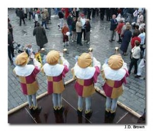 Ypres offers a festival on Market Square every year.