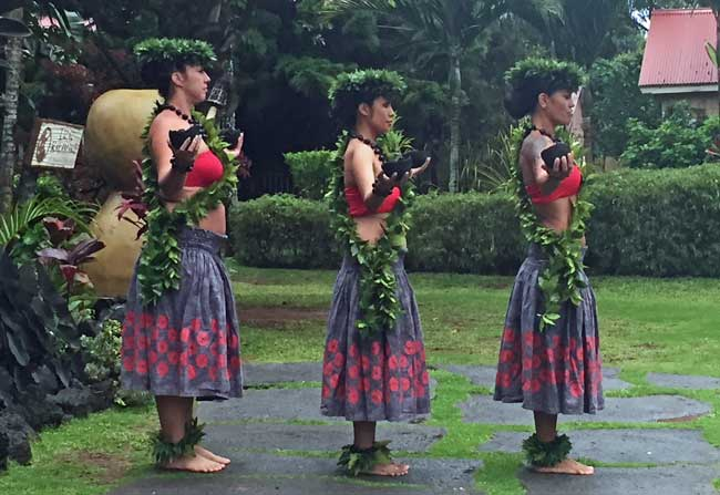 Hula is a huge part of Hawaiian culture. Photo by Janna Graber