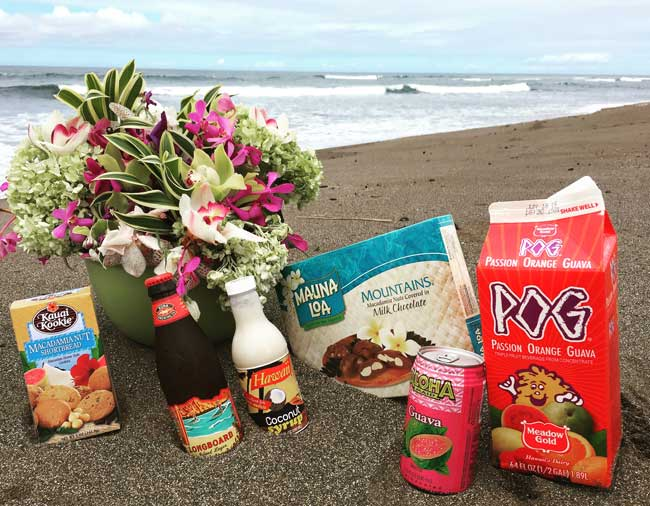 Favorite local products in Hawaii. Photo by Janna Graber