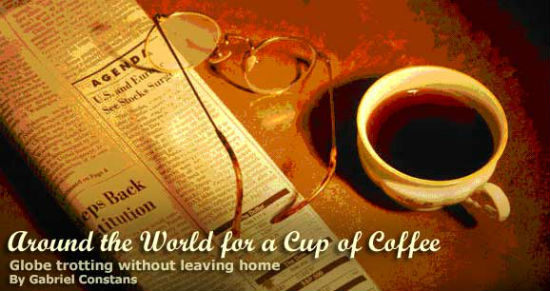Coffee can bring up ideas of different cultures.