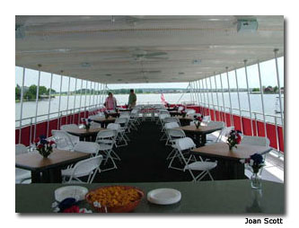 The Granbury Riverboat offers good family fun.