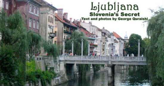 Ljubljana has an unbeatable old-world feel.