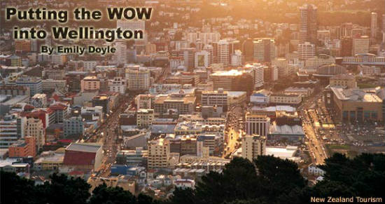 Wellington feels like a village at its center.