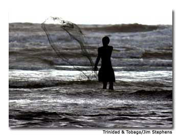 In Tobago, life revolves around the sea.