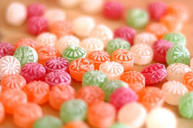 Sucking on hard candy can help with ear popping and pressure.