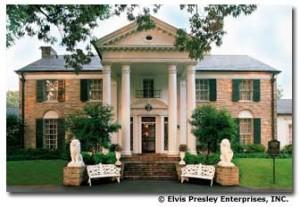 Elvis Presley's Graceland.