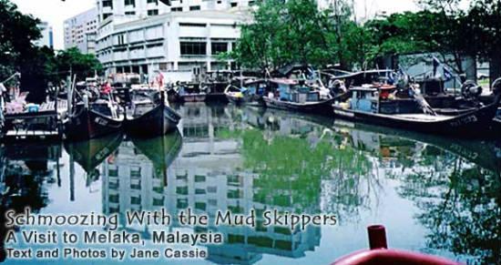 Melaka is best seen by boat.