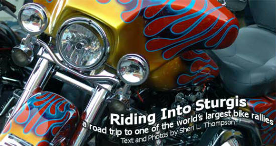 Sturgis draws bikers from all over.