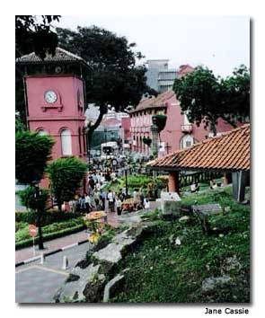 Melaka is full of historic charm.