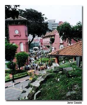 Melaka is full of historic charm.