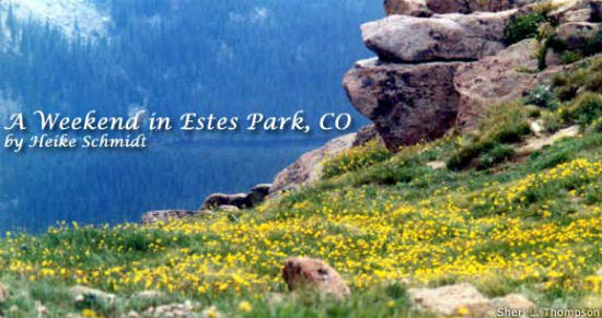 Rocky Mountain National Park is breathtaking.