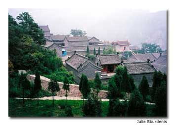 The Great Wall in Juyongguan is situated among temples and courtyards, with spectacular views.