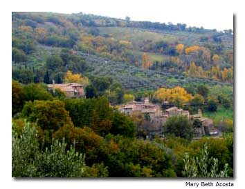 Umbria has a classic medieval feel.