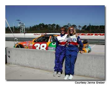 Getting ready for the Richard Petty Driving Experience at Walt Disney World Speedway