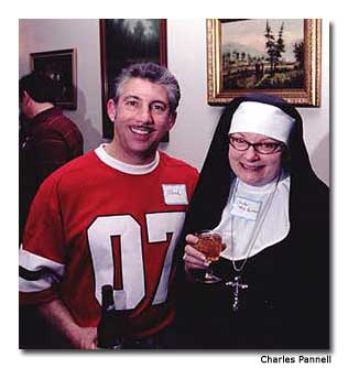 Everyone is a suspect, even a not-so-innocent-looking nun.
