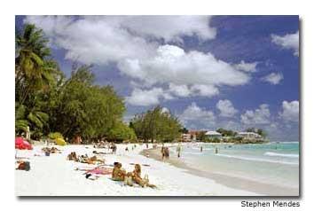 Barbados has amazing beaches.