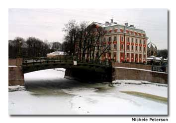 From murder to romance, the frozen canals of St. Petersburg have been the scene for many dramas of the past.