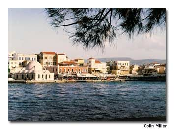 The picturesque harbors of the Greek islands offer sanctuary from the Aegean's famous tempests.