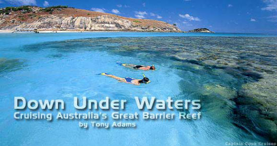 Snorkeling in Australia is beautiful.