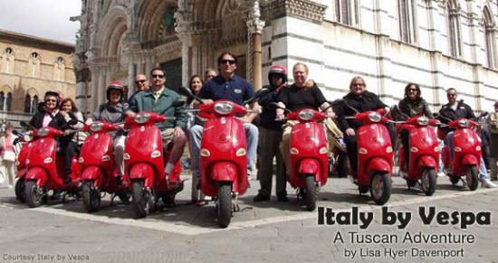 A basic ability to ride a scooter is required for the tour.