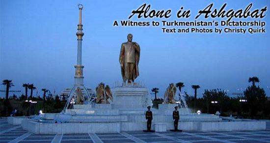 Tribute to Turkmenbashi.