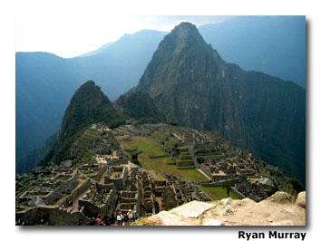 Most people are drawn to Machu Picchu.