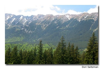 Piatra Craiului has one of the most spectacular ridgelines in the Carpathian Mountains.