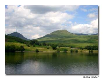 Nineteenth-century novelist Sir Walter Scott was so inspired by Loch Katrine that he wrote The Lady of the Lake, a poem about these surroundings.