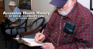 Accessible Health History: MedicalSummary.com