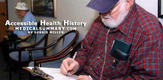 Accessible Health History: MedicalSummary.com