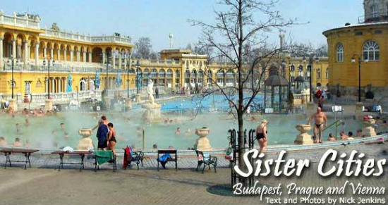 Budapest's Széchenyi Geothermal Baths are one of the largest in all of Europe.